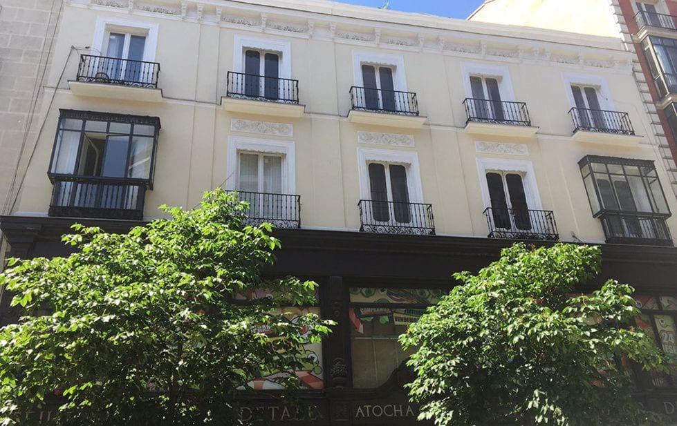 Calle Atocha 40 edificio Elaia Fuente Elaia