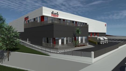 Würth Modyf Leases a 7,200 m2 Logistics Platform from Iberdrola Inmobiliaria