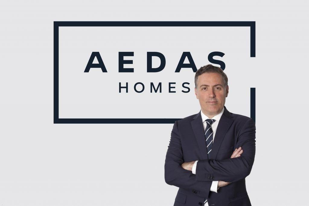 David Martínez CEO de AEDAS Homes.