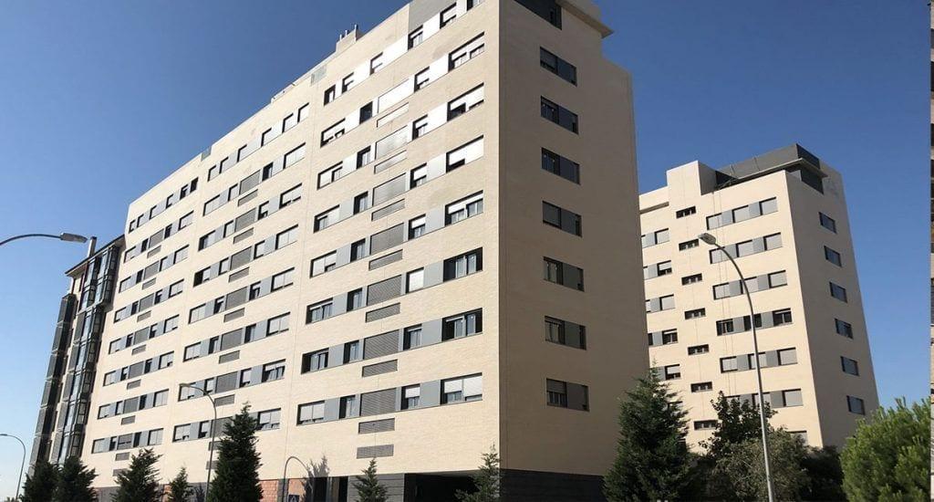 Edificio Ensanche de Vallecas. Fuente Domo Activos
