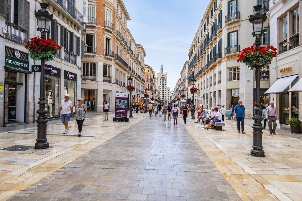 Málaga Calle Larios
