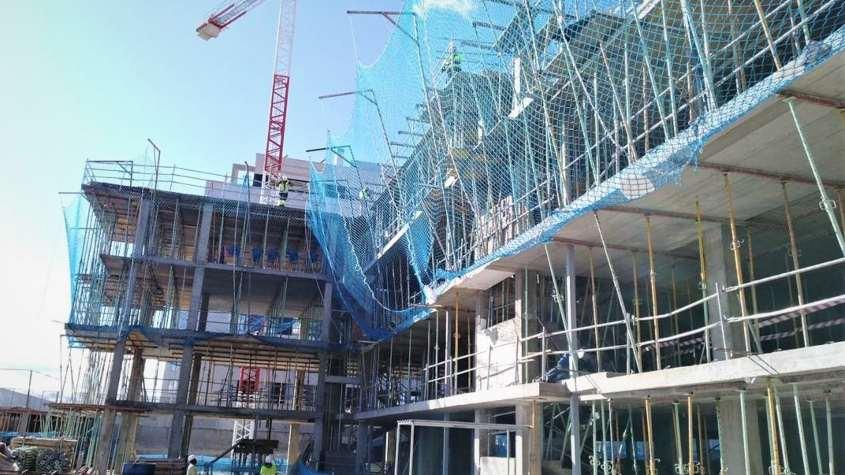 Obras de viviendas de Aedas Homes en San Sebastián de los Reyes Madrid
