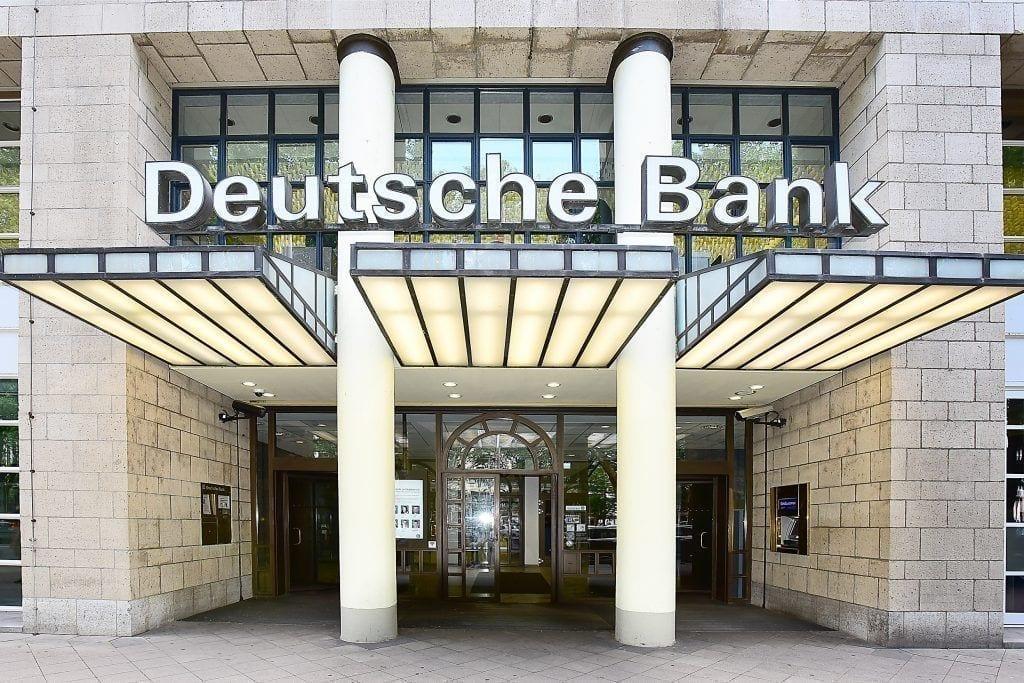 Oficina Deutsche Bank en Dusseldorf Alemania