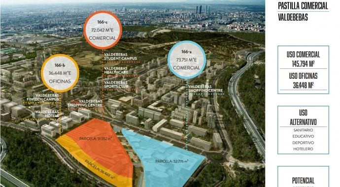 Valdebebas Sells its Commercial Land to Tomás Olivo to Build North Madrid's Largest Shopping Centre