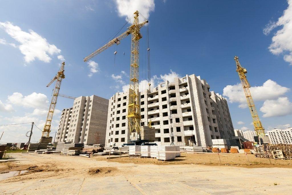 construcción edificio obras