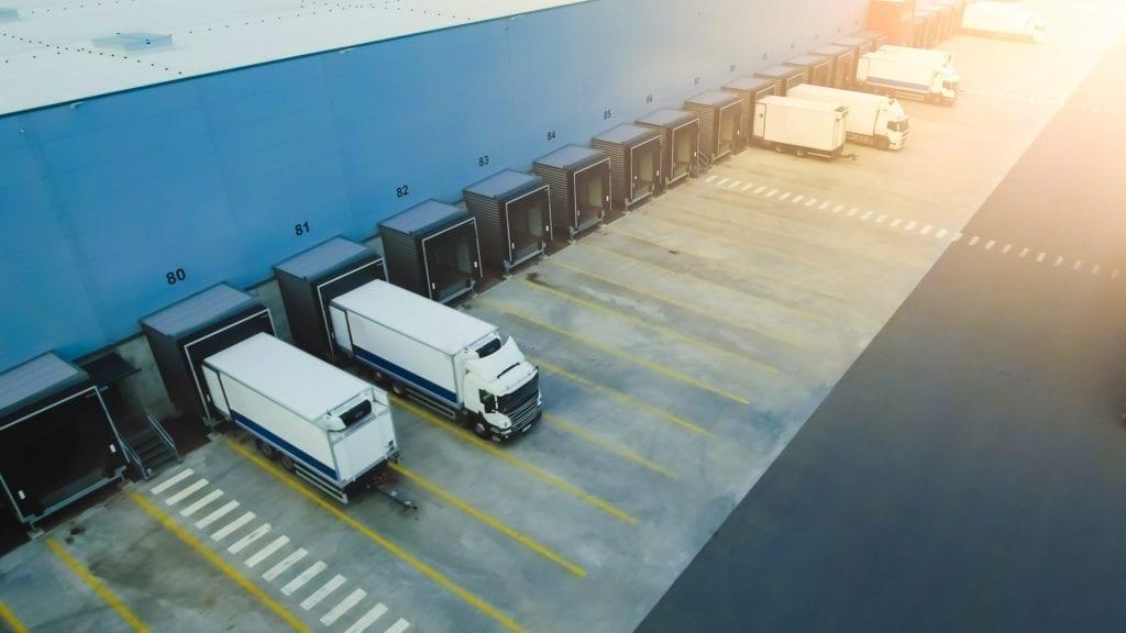 Almacén logístico carga archivo