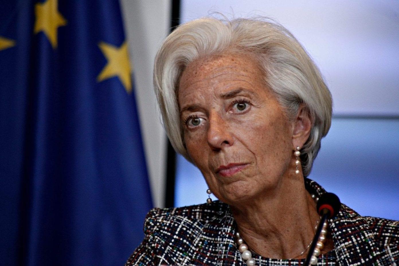 Christine Lagarde Banco Central Europeo BCE scaled