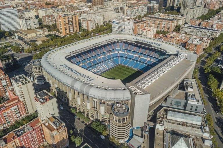 El Real Madrid habilita el Santiago Bernabéu como gran centro de material sanitario