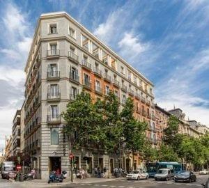 Edificio en la calle Serrano de Madrid, propiedad de Deka.