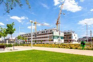 Obras construcción viviendas Gestilar en San Sebastián Reyes Madrid 1