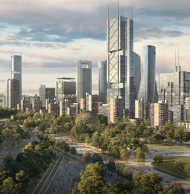 Madrid Nuevo Norte revoluciona el precio de la vivienda y oficinas en la capital