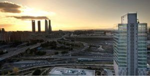 Torre Chamartín Cuatro Torres Madrid. Merlin Properties