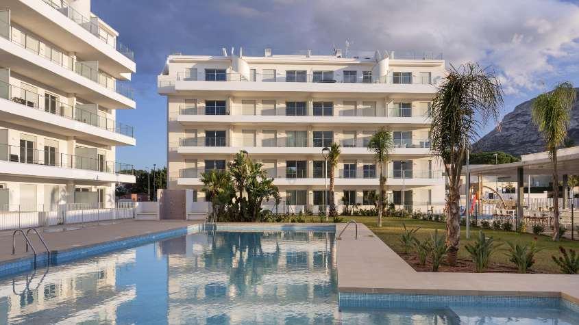 Viviendas playa de Aedas Homes en Dénia Alicante 2