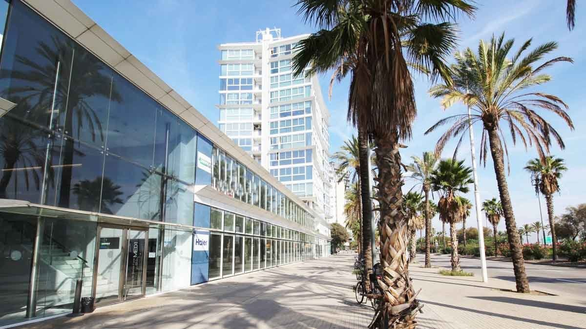 edificios de oficnas Med1 y Med2 de Barcelonesa de Inmuebles