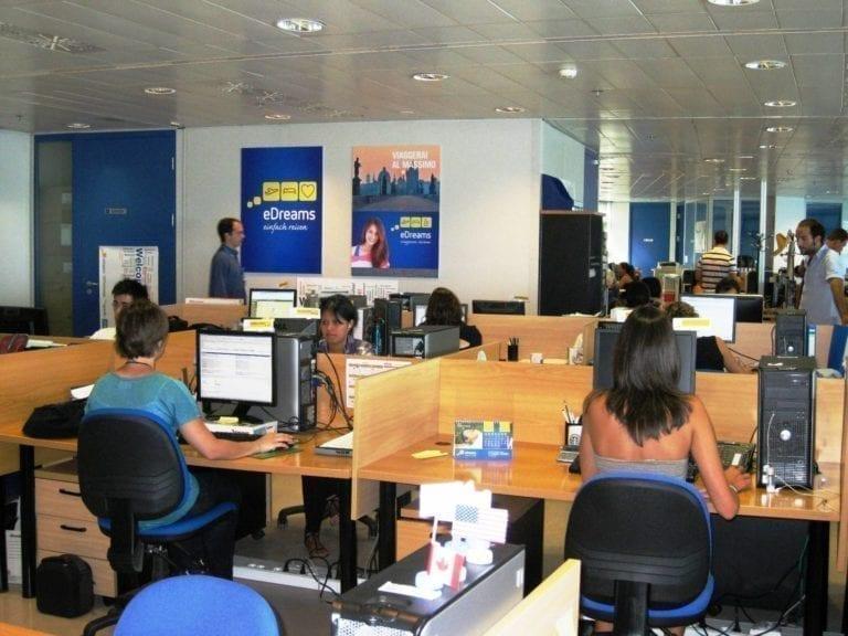 eDreams cambia su sede a España y presenta un ERTE para 985 empleados en el país