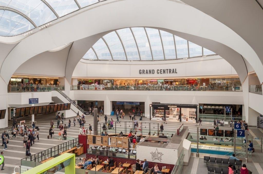 Centro Comercial Grand Central Birminghan de Hammerson