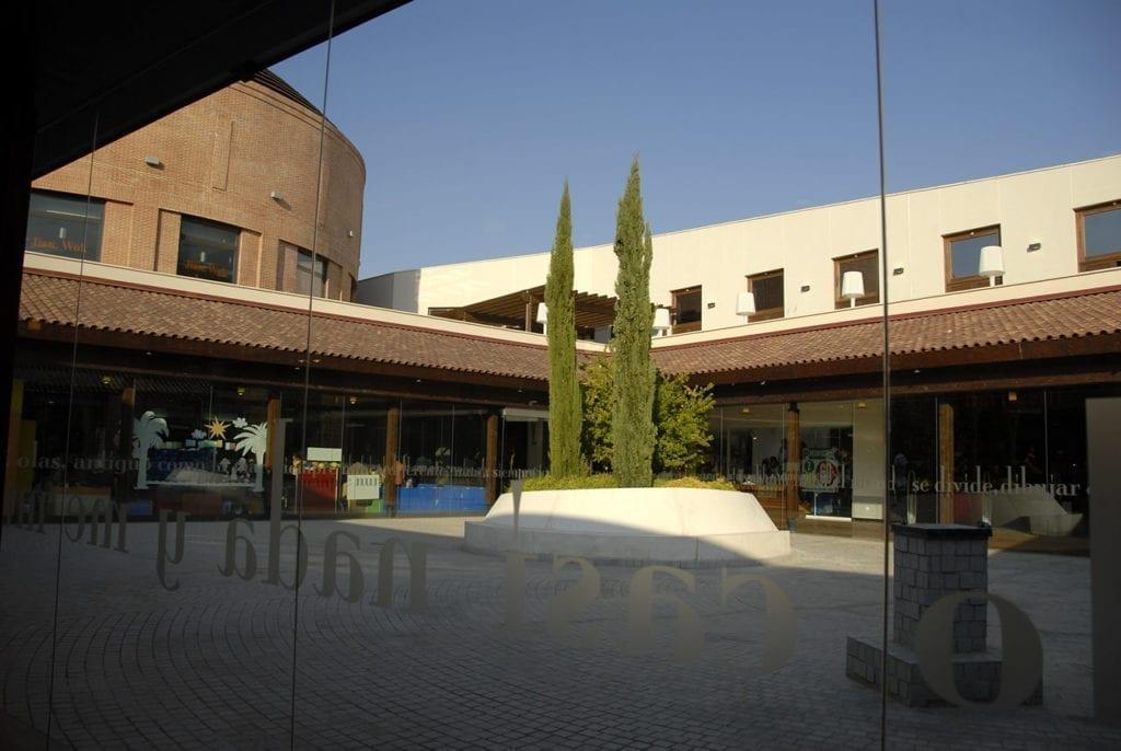 Centro comercial Espacio Torrelodones di design
