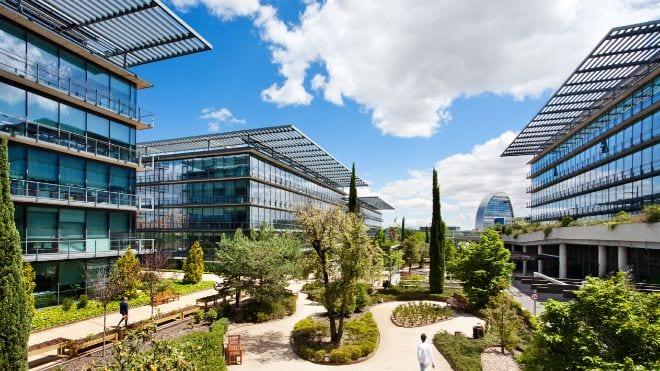 Complejo oficinas Vía Norte en Madrid de Merlin Socimi