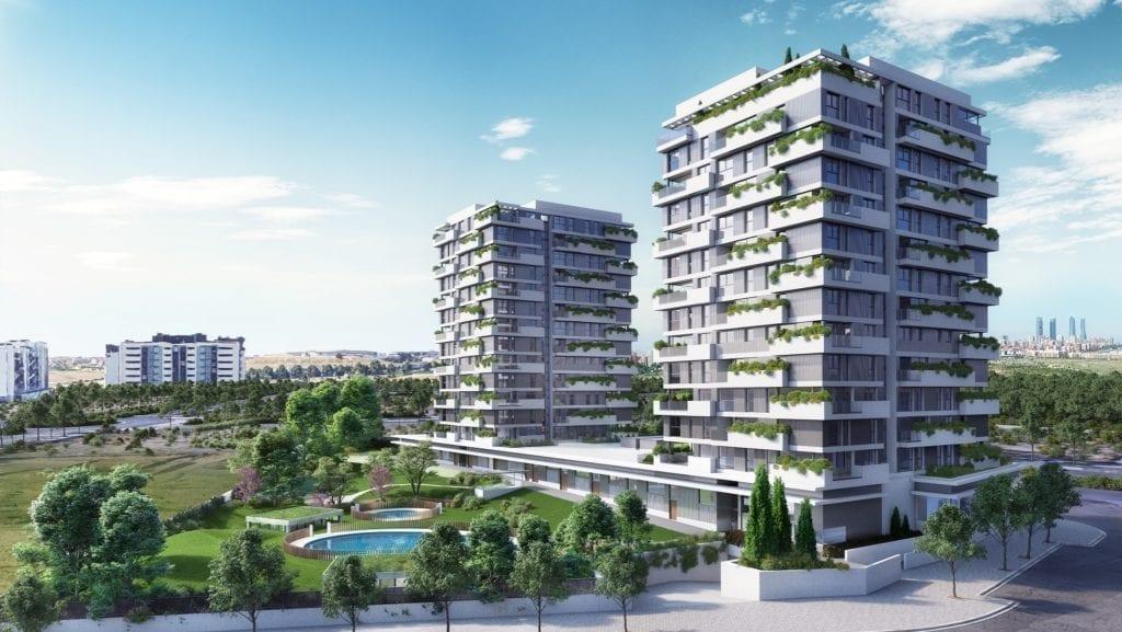 Habitat Valdebebas, promoción de la compañía.