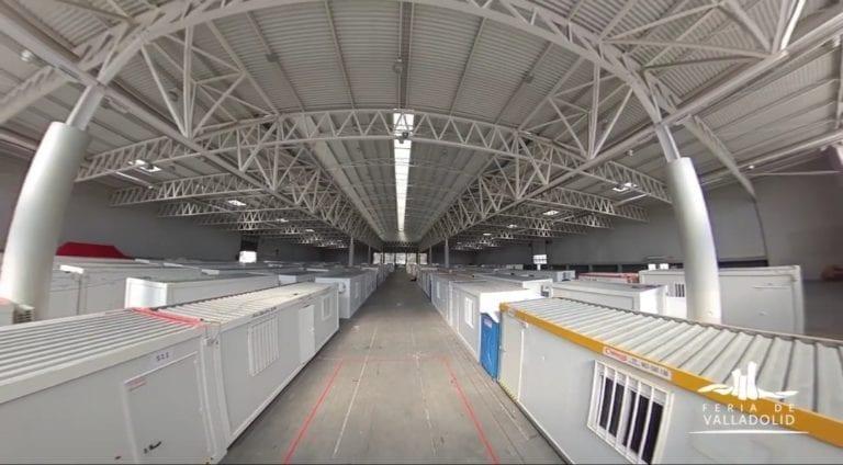 Ikea y Rio Shopping colaboran con el hospital de campaña de la Feria de Valladolid