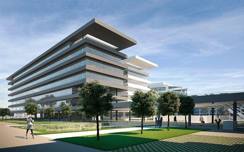 Oficinas de Ing Madrid edificio Helios