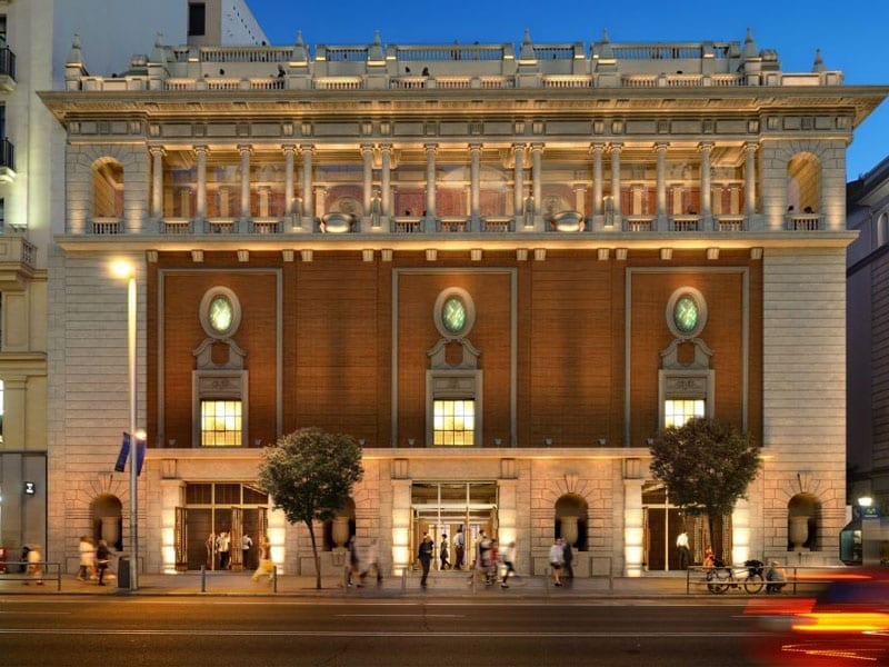 The 'Palacio de la Música' on Gran Vía will Become a Theatre again and not a Megastore