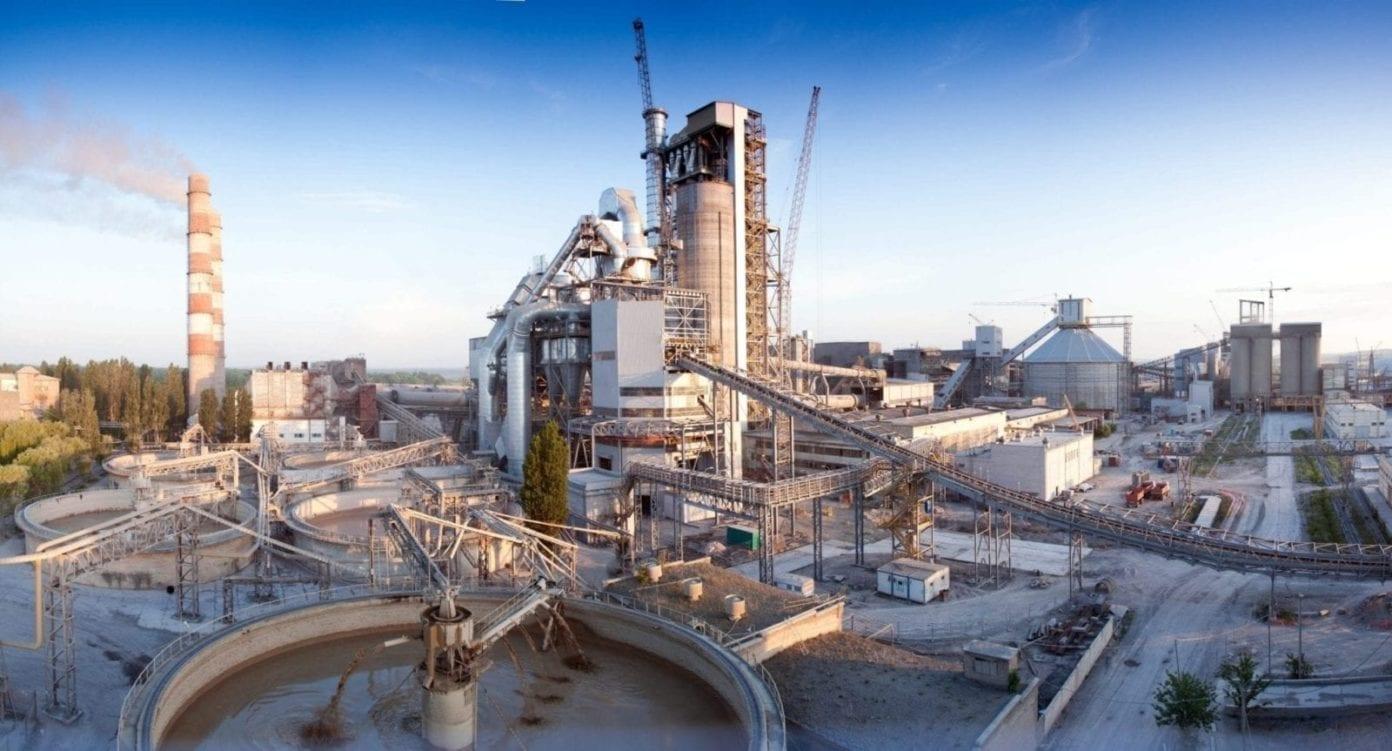 Planta industrial cemento