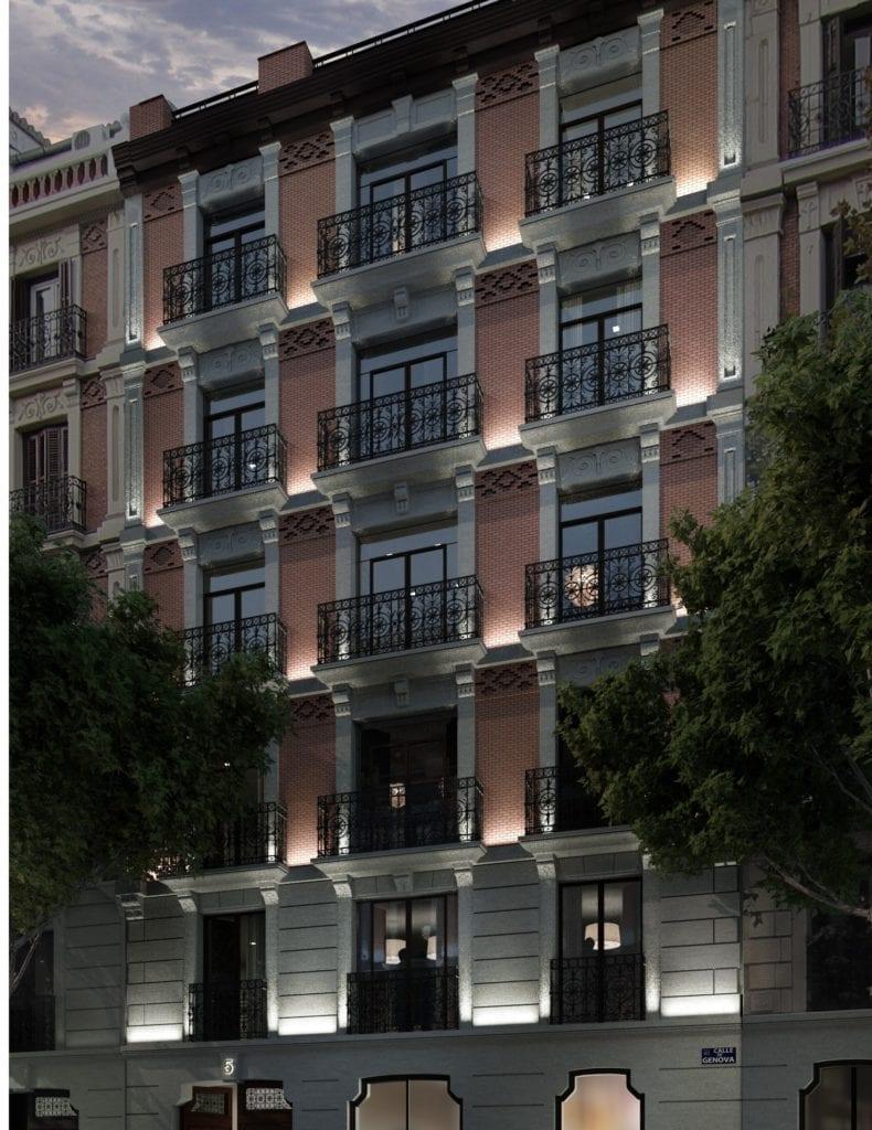 edificio de Catella en la calle Génova madrid