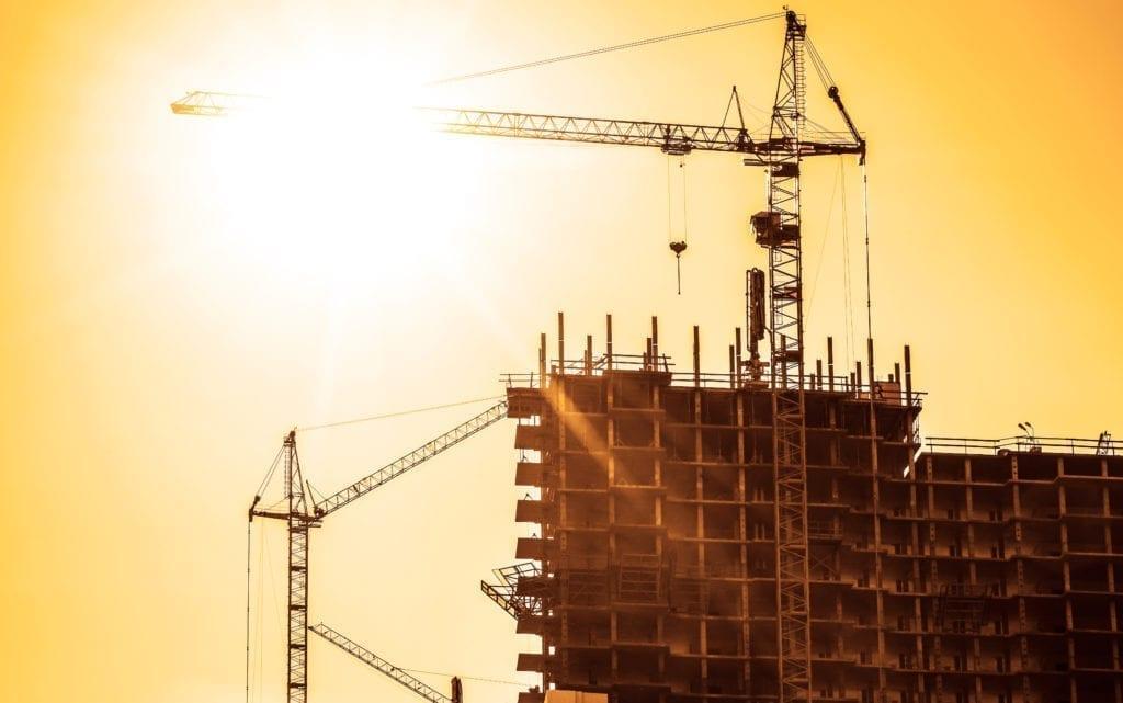 edificio obras en construccion