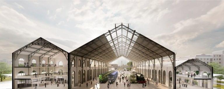 AGi architects, ganador del segundo premio de rehabilitación de la estación de Madrid-Delicias