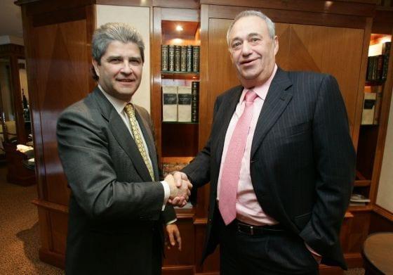 Fernando Martin y Manuel Jove en la compra de Martinsa Fadesa