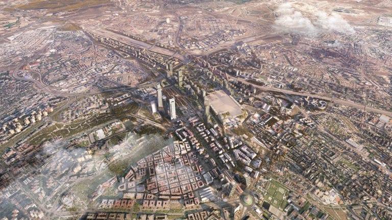 El pleno del Ayuntamiento da luz verde definitiva a Madrid Nuevo Norte