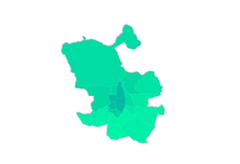 Latina y Villaverde, las zonas más cotizadas para comprar vivienda en Madrid