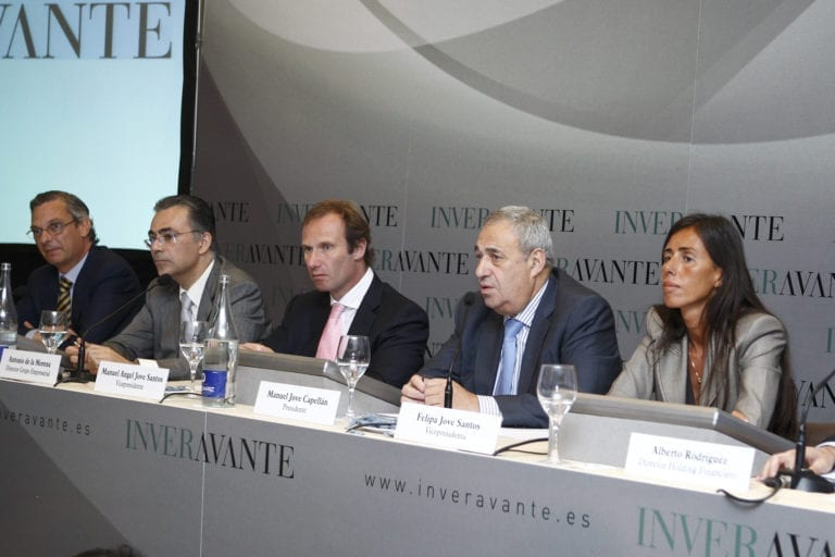 Los hijos de Manuel Jove asumen la presidencia de Inveravante