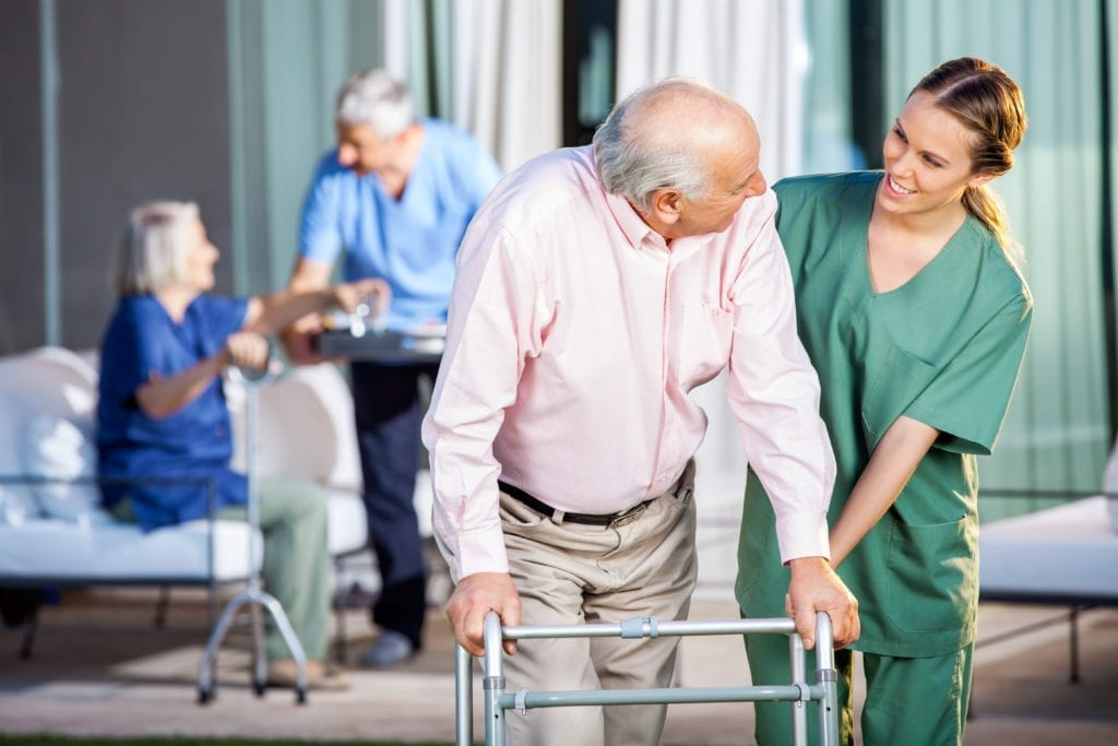 Owners of Nursing Homes Ask the Government for a Change in the Management Model
