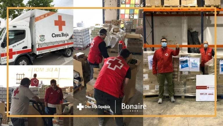 Bonaire cede a Cruz Roja 1.110 m2 de almacén logístico para el reparto de alimentos