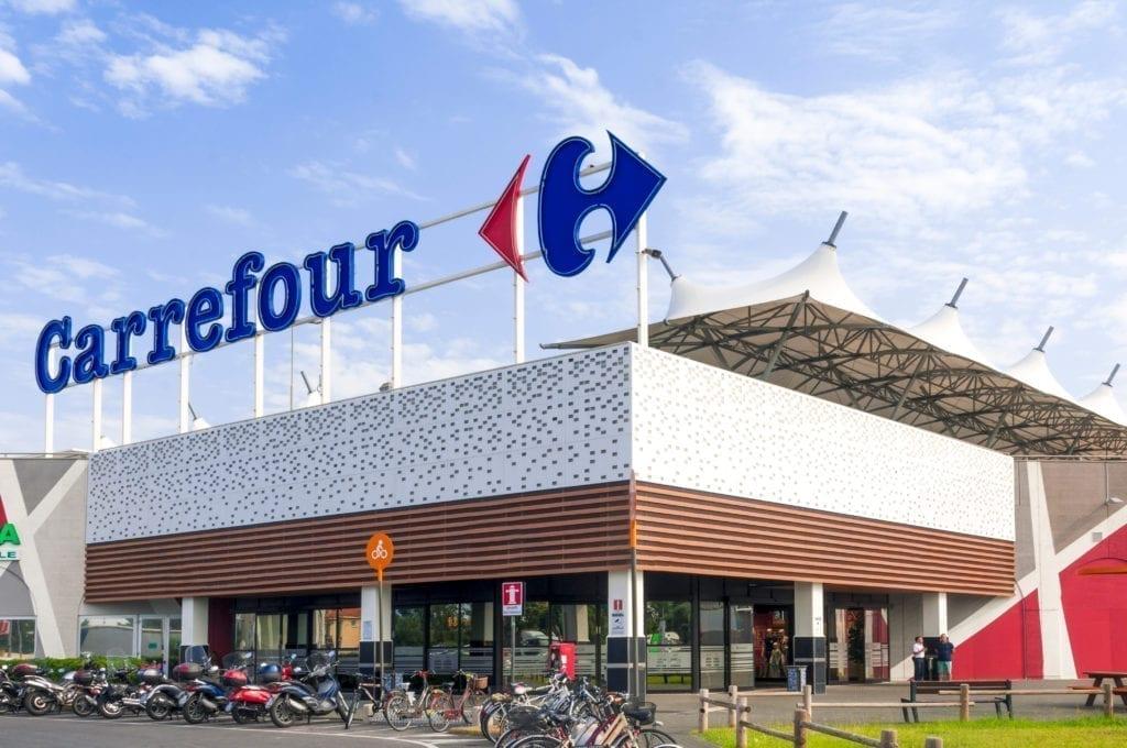 realty income compra siete supermercados Carrefour