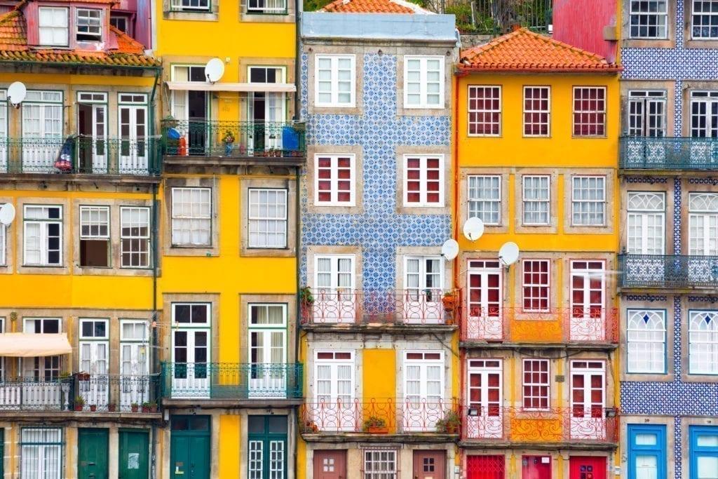 viviendas Oporto Portugal