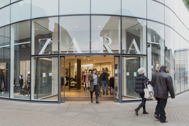 Inditex to Close 56 Stores in Spain this Summer