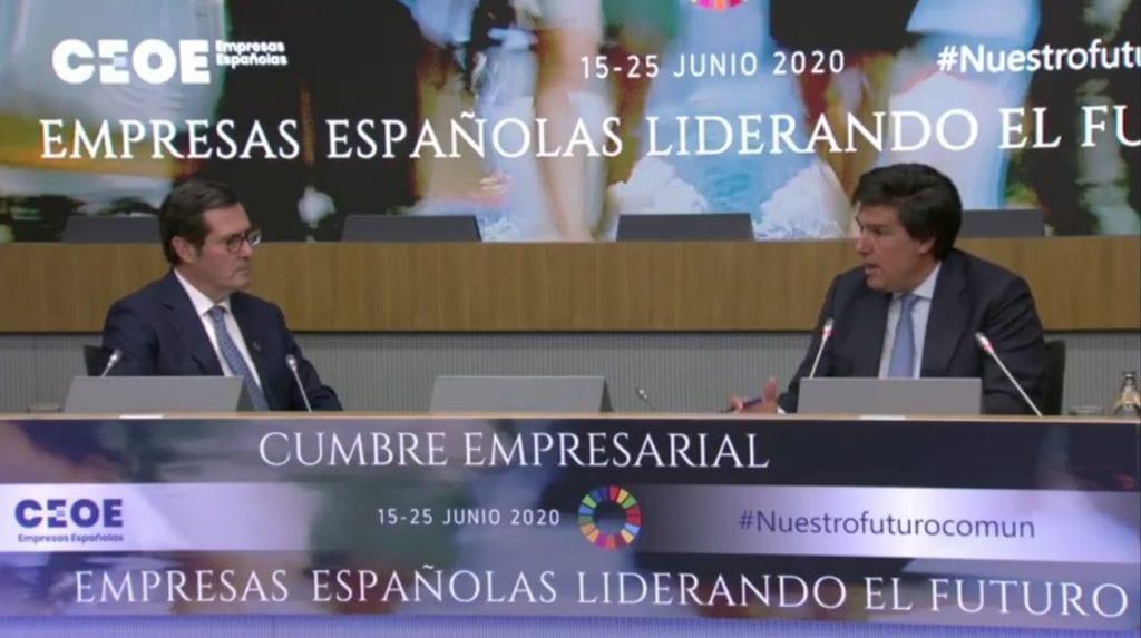 Cumbre CEOE Ismael Clemente