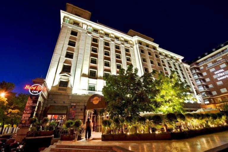 ASG saca al mercado el hotel Hard Rock de Madrid