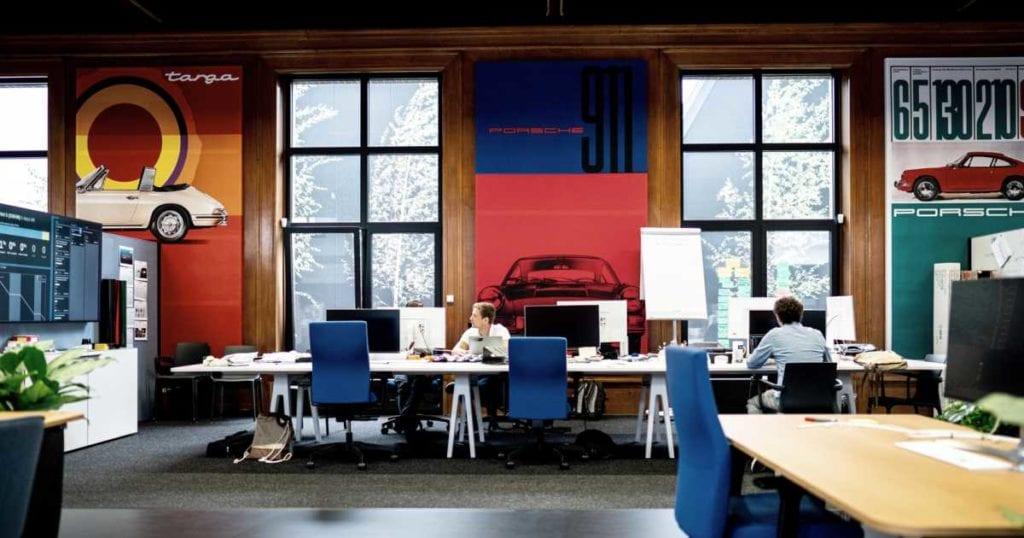 Oficinas de Porsche