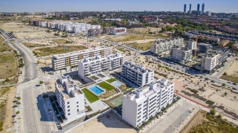 La vivienda nueva resiste en Madrid: los precios suben casi un 3%