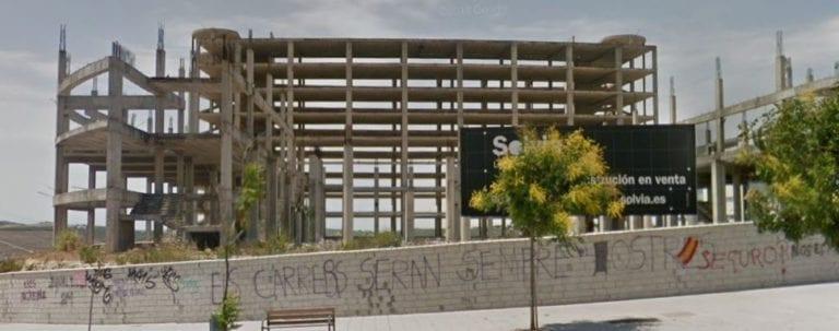 Se vende la parcela del fallido Palacio de Congresos en Jerez