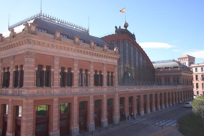 Adif invertirá 4,4 millones en restaurar el edificio histórico de la estación de Atocha