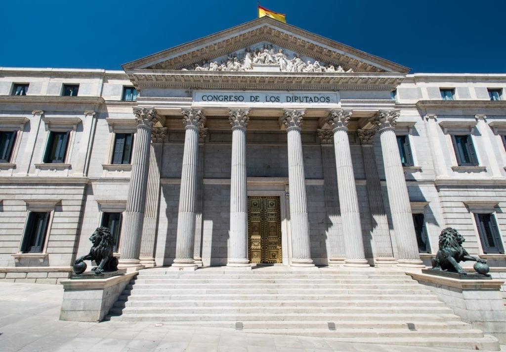 Congreso de los diputados Madrid España Fuente Shutterstock