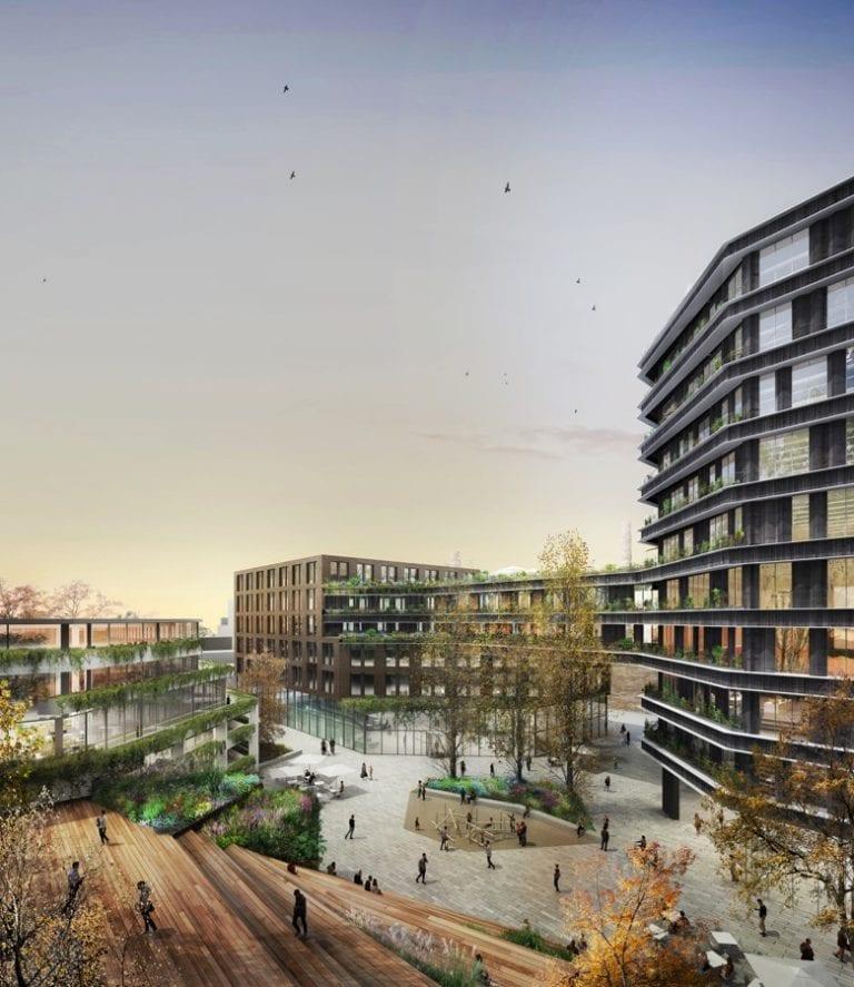 Hines y UDIN desarrollarán un complejo de oficinas en el 22@