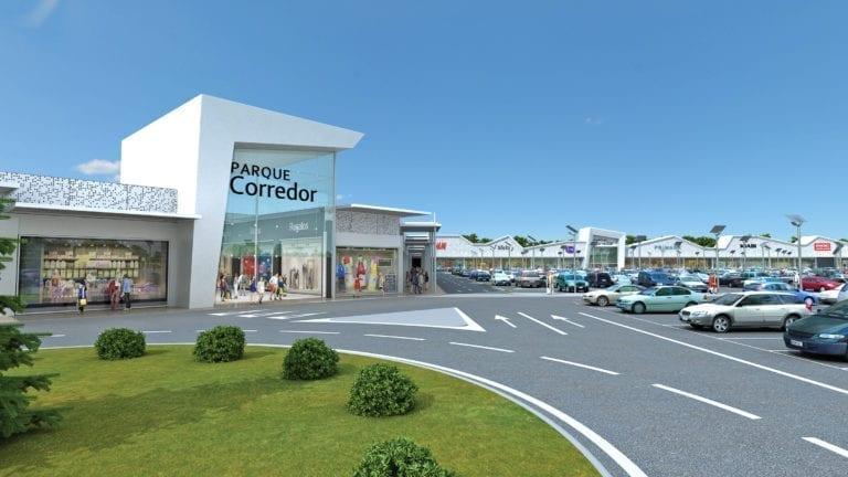 Parque Corredor entrega a Inditex sus nuevos locales antes de su reapertura