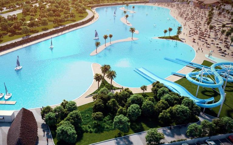 Quabit mantiene sus planes de construir la mayor playa artificial de Europa