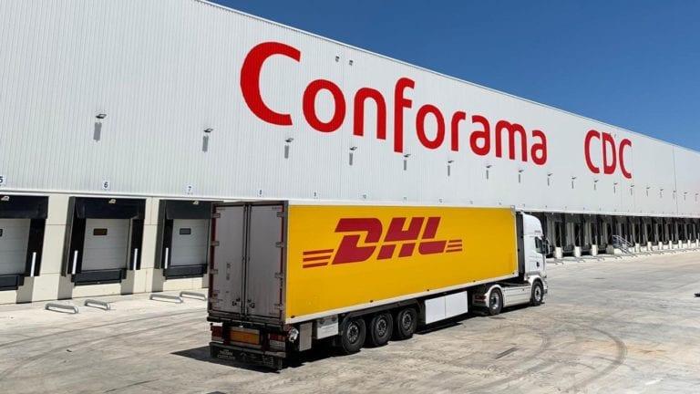DHL gestiona la nueva plataforma logística de Conforama